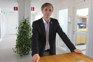 """""""Vi ska höras igen så vi får väl se"""", kommenterar Ludvikahems vd Ulf Rosenqvist kontakterna med nya ägarna av den äldre delen av Gallerian."""