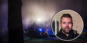 Under torsdagskvällen iscensatte räddningstjänsten en rökfylld byggnad för att brandmännen skulle få öva på rökdykning.