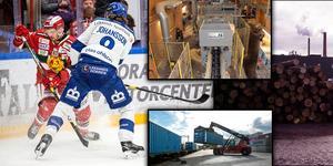 Det nya bolaget får tre moderna anläggningar i Insjön, Mora och Blyberg. Bolaget meddelar att de kommer fortsätta vara sponsor till hockeyn i Mora och Leksand. Montagebild: Lars Dafgård, Sten Widell.