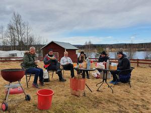Från vänster: Leine Kaleva, Linda Torngärde, Elisabeth Hansen, Karina Silfver Grahn, Benny Berglund, Kenneth Larsson. Elevhälsoteam Slottegymnasiet.
