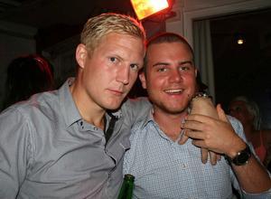 Blue Moon Bar. Richard och Erik