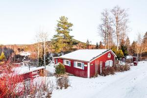 Detta fritidshus i Lennheden, Borlänge kommun, är det enda fritidshuset på Klicktoppen för vecka 47.Foto:  Kristofer Skog