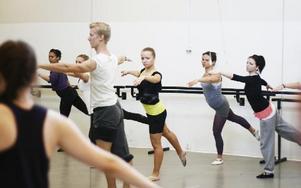 Ett balettpass. FOTO: BJÖRN OTTOSSON