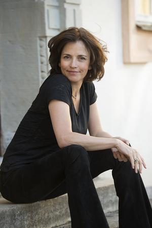 Skådespelaren, författaren och konstnären Amanda Ooms. Foto: TT
