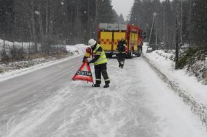 Sedan en tid tillbaka stänger räddningstjänsten i Vansbro av all trafik i samband med trafikolyckor.