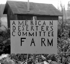 1969 fanns det ett litet USA mitt i gästrikeskogen. Foto: Lennart Pettersson/Arbetarbladet.