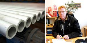 Tomas Kärnström, fackordförande för metallarbetarna på SMT i Sandviken.