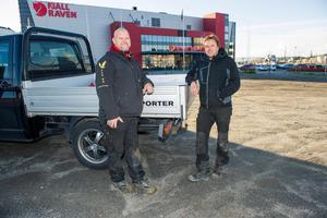 Stefan Sjöberg och Hans Blomqvist planerar bostäder på Framnäskajen, och en upprustning av sin fastighet på Viktoriaesplanaden 6.