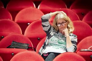 """Maria Deubler debuterar som regissör. """"Det är dröm som jag haft sedan jag började i teatergruppen"""". Foto: Lennye Osbeck"""