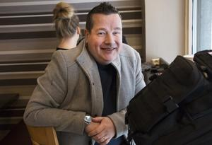Butikschefen Marco Kyllönen.