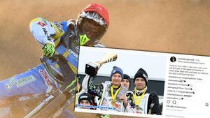 Fredrik Lindgren är tillbaka som en vinnare.