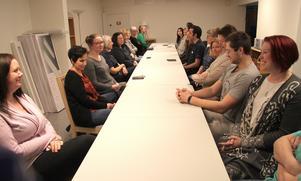I måndags slapp östra hemtjänstdistriktet för första gången utlokalisera personalmötet.