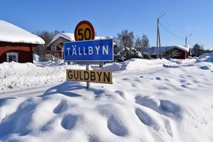 Tällbyn, några kilometer utanför Malung blev snabbt Guldbyn.