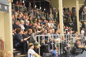 Publikfesten i Guide arena på lördagen – 355 åskådare såg seriefinalen i division 2 GUD mellan Haik och IBF Borlänge.