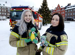 Ilona Lindqvist från Frösön och Linnea Ingmar från Sundsvall har tillsammans startat stiftelsen Brandhjärtan. Den hjälper utsatta barn som på olika sätt far illa.