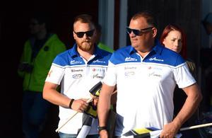 Andreas Sundin och Stefan Bäckström leder Masarnas lag även nästa säsong.