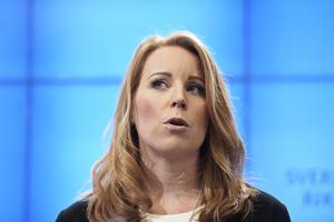 Annie Lööf är Centerpartiets ledare. Insändarskribenten känner sig sviken av sitt parti. /FOTO: Janerik Henriksson/TT