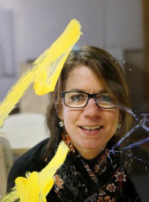 Caroline Klintenberg är rektor på Regnbågens förskola.