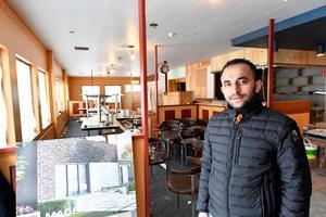 Mehmet Ergin tar nu över gamla Restaurang Oscar och skapar Restaurang Myhtos i Mora.