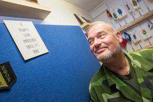 Det verkar alltid omöjligt tills det är gjort. Ett motto som hänger på väggen på Mikael Åkerströms kontor.