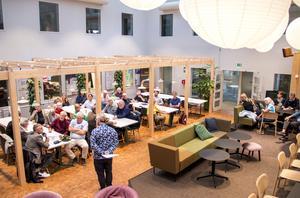Det blev en välbesökt kväll hos Arbetarbladet när Gävles planerade kulturhus diskuterades.