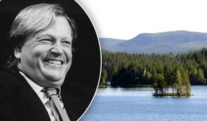 Finansmannen Jan Stenbeck sålde skogar i Dalarna genom sitt företag Kinnevik, kort före han avled 2002.Foto: Hans T Dahlskog/TT Bild/Jan Svensson