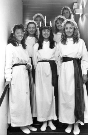 Lucia 1985 blev Eva Lotta Larsson.