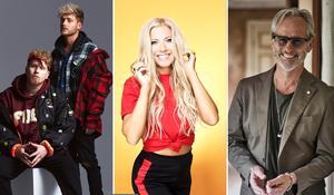 Norlie & KKV, Sigrid Bensson och Uno Svenningsson är tre av åtta artister som ska locka besökare till Kramfors stadsfest den 15-16 juni 2018. Foto: Pressbild
