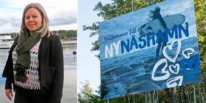 Nina Munters, tillväxtstrateg på Nynäshamns kommun.