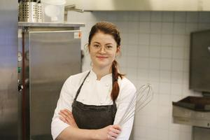 Moa Berghall är kock och kommer närmast från en praktikperiod på en restaurang i Reykjavik.