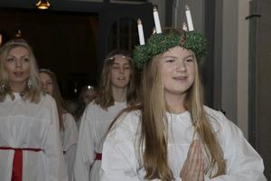 2019 års lucia i Askersund var Hanna Ahlm.