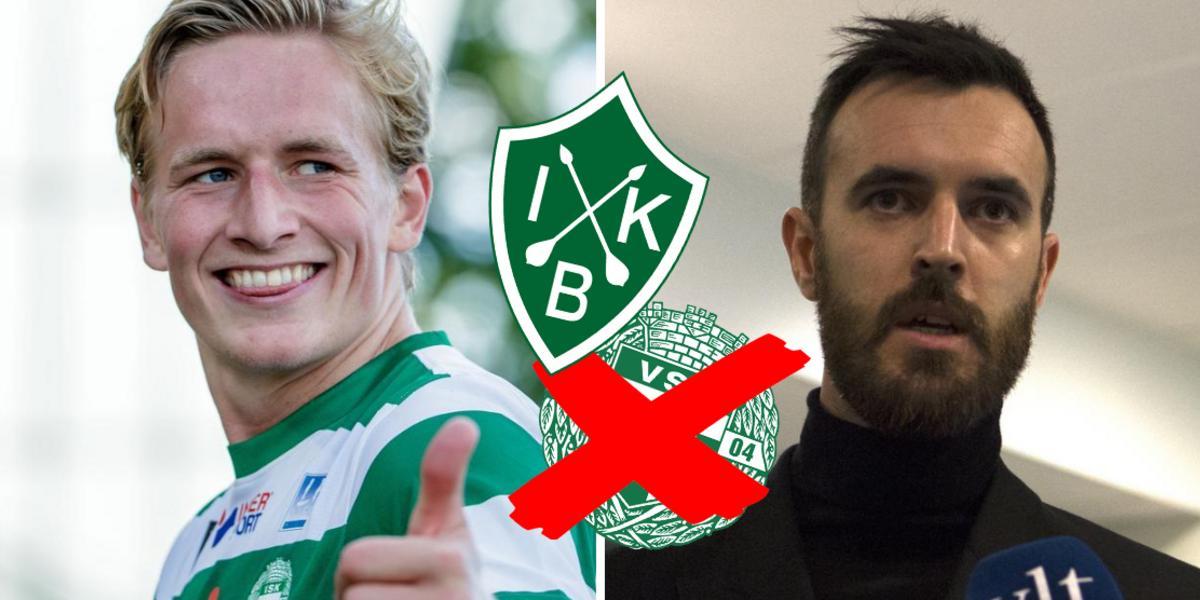 """Sportchefen om anfallarens övergång till rivalen – därför valde VSK att sälja: """"Väger in många faktorer"""""""