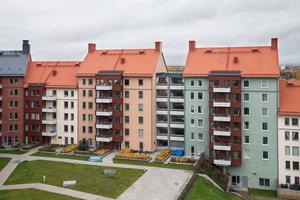 Arkitekt Jonas Kjellander ville skapa ett kvarter där husen inte ser likadana ut men ändå passar ihop.