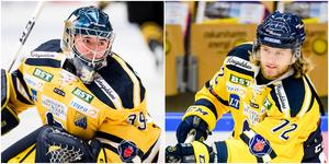 George Sörensen och Nicolai Meyer spelar landskamper för Danmark i november när resten av SSK-laget har spelledigt. Foto: Bildbyrån.