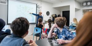 Klassrum med starka lärare är basen för vår välfärdsstat, anser insändaren. Foto: Alexander Olivera / TT