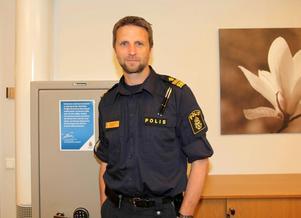 Kenneth Bergquist blir boss över polisen i Västernorrland.