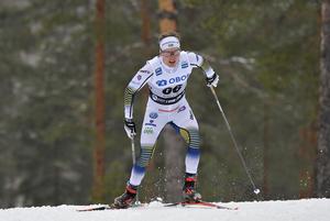 Axel Ekström lyckades inte följa upp succén i Ulricehamn utan slutade först på 60:e plats över 15 kilometer fritt i Falun.