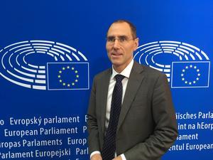 Markus Bonekamp är chef för Europaparlamentets kontor  i Sverige. Han skriver om EU:s insatser mot pandemin med covid-19-smittan. Foto: Pressbild