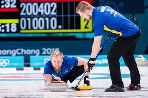 Niklas Edin och hans lagkamrater jagar ett historiskt svenskt OS-guld. Bild: Joel Marklund/Bildbyrån