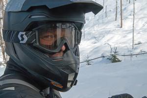 – Den här säsongen kommer jag att köra 100 mil hemmavid och ytterligare 50 i fjällen, säger Mattias Eriksson.