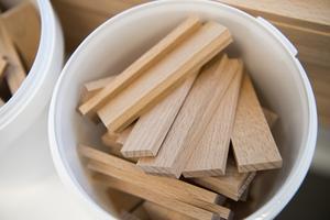 Framtidens trä handlar mångt och mycket om vilket arv vi vill lämna efter oss, menar debattören.  Henrik Montgomery / TT
