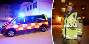 Räddningsledaren Mats Nygren berömmer grannes agerande vid torrkokning i Skönsmon.