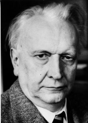 Den tyske psykiatern och filosofen Karl Jaspers. Foto: TT