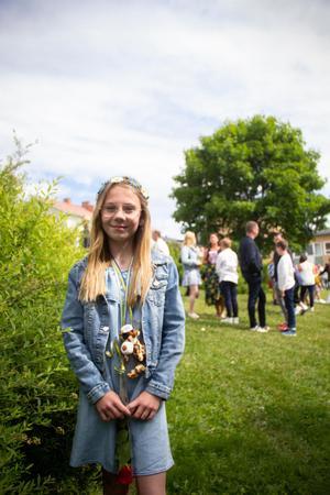 Lilja Helsing ska danstävla på sommarlovet.