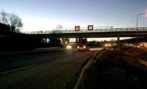 Vid Bygatebron sänks hastigheten till 80 kilometer i timmen.
