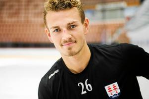 Hampus Larsson, lagkapten i Timrå IK.