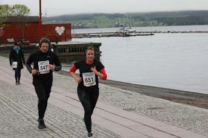 Cecilia Söderberg och Mats Åslund.