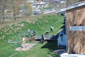 Vårbruk på Spiragården i Alfta.