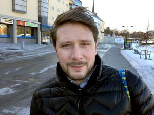 Henrik Nygren, 29, kundchef, Sundsvall:
