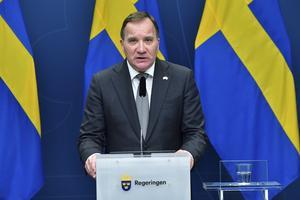 Statsministern tacksamt mål för kritik. Foto: Jonas Ekströmer / TT / NTB